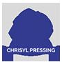 Chrisyl Pressing Logo